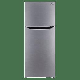 LG 308 Litres 2 Star Frost Free Inverter Double Door Refrigerator (Door Cooling+, GL-T322SDSY.ADSZEB, Dazzle Steel)_1