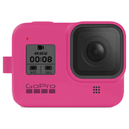 GoPro Sleeve Plus Lanyard for Hero 8 (AJSST-007, Electric Pink)_1