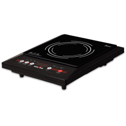 Kenstar Pearl Carbon Steel 1400 Watts Induction Cooktop (Touch Panel Controls, KIPEA14KP7-DME, Black)_1