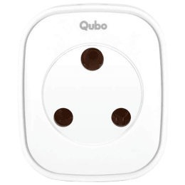Qubo (Part of Hero Group) 16 Ampere Smart Plug (HS1, White)_1