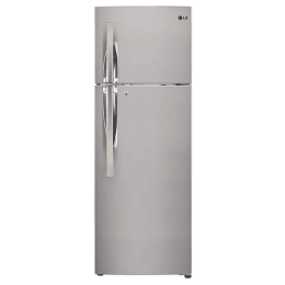 LG 335 Litres 2 Star Frost Free Inverter Double Door Refrigerator (Convertible Plus, GL-T372RPZU.EPZZEB, Shiny Steel)_1