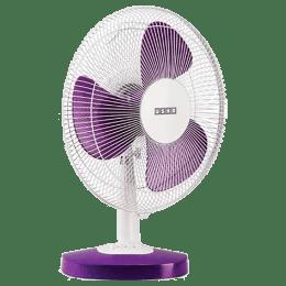 Usha Table Fan (Mist Air Duos, Purple)_1