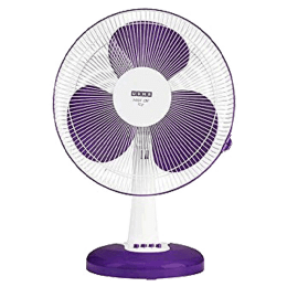 Usha Table Fan (Mist Air Icy, Purple)_1