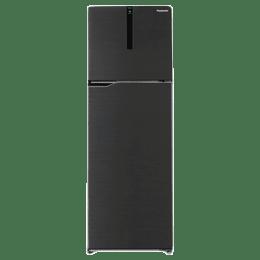 Panasonic 307 Litres 3 Star Frost Free Inverter Double Door Refrigerator (ECONAVI: Smart Cooling Technology, NR-BG313PBK3, Black)_1