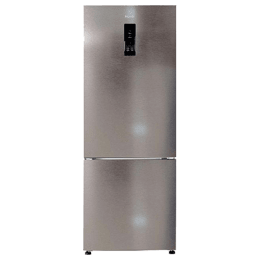 Haier 345 Litres 3 Star Frost Free Inverter Double Door Refrigerator (Bottom Mount, 1 Hour Icing Technology HRB-3654PIS-E, Inox Steel)_1