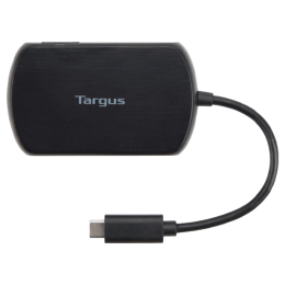 Targus USB-C 3.0 Hub with Gigabit Ethernet Adapter (ACH330AP, Black)_1