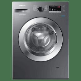 Samsung 6.5 kg Fully Automatic Front Loading Washing Machine (WW66R22EK0X/TL, Inox Grey)_1