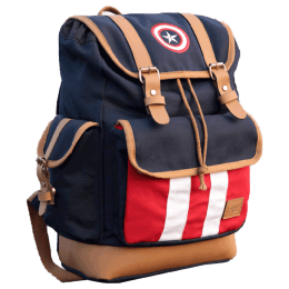 The Souled Store 15 Litres Captain America Backpack (CRFEB02, Multicolour)_1