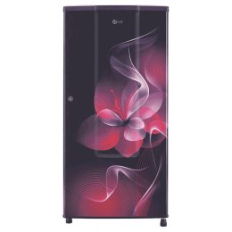 LG 185 Litres 2 Star Direct Cool Single Door Refrigerator (Anti Bacterial Gasket, GL-B181RPDC.APDZEB, Purple Dazzle)_1