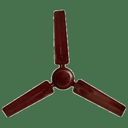 Lifelong Wave 120cm 3 Blade Ceiling Fan (Copper Motor, LLCF118, Brown)_1