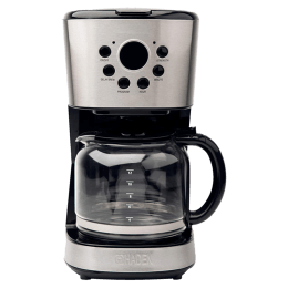 Haden 12 cups Automatic Filter Coffee Maker (195586, Black)_1