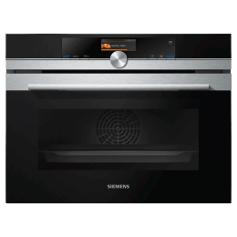 Siemens iQ700 47 Litres Built-in Oven (FullSteam Function, CS656GBS2, Black)_1