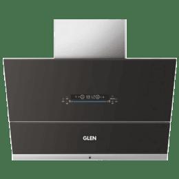Glen 1400 m³/hr 90cm Wall Mount Chimney (Motion Sensor, CH-6074AC90, Black)_1