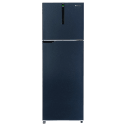 Panasonic 270 Litres 2 Star Frost Free Inverter Double Door Refrigerator (ECONAVI: Smart Cooling Technology, NR-BG272VDA3, Ocean Blue)_1