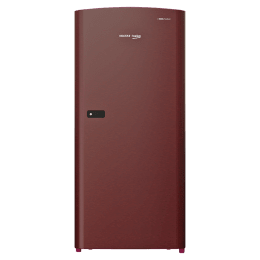 Voltas Beko 195 Litres 2 Star Direct Cool Single Door Refrigerator (RDC215DXWRX/XXXW, Sweet Rose Wine)_1