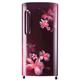 LG 215 Litres 2 Star Direct Cool Single Door Refrigerator (Fastest Ice Making, GL-B221ASPC.DSPZEB, Scarlet Plumeria)_1