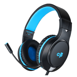 Cosmic Byte Over-Ear Wired Gaming Headset with Mic (H10, Blue)_1