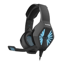 Cosmic Byte Over-Ear Wired Gaming Headset (Spider, Blue)_1