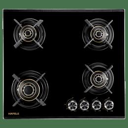 Hafele Corona 4 Burners Built-in Hob (460, Black)_1