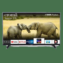 Croma 100.3cm (39.5 Inch) Full HD LED Smart TV (Dual Box Speakers, CREL7362, Black)_1