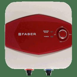 Faber 6 Litres 5 Star Storage Water Geyser (2000 Watts, FWG Glitz, Ivory/Maroon)_1