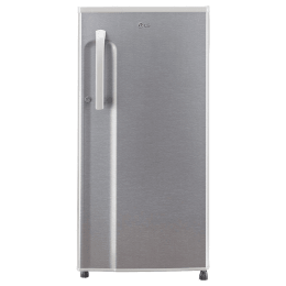 LG 188 Litres 3 Star Direct Cool Single Door Refrigerator (Anti Bacterial Gasket, GL-B191KDSD.ADSZEB, Dazzle Steel)_1