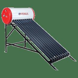 Venus Mercury 200 Litres Solar Water Geyser (2000 Watts, VTC, White)_1