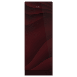 Haier 220 Litres 3 Star Direct Cool Single Door Refrigerator (1 Hour Icing Technology, HRD-2203PWG-E, Wave Glass Red)_1