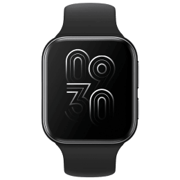 Oppo Smartwatch (GPS, 41mm) (Color AMOLED Display, OW19W6, Black, Rubber Band)_1