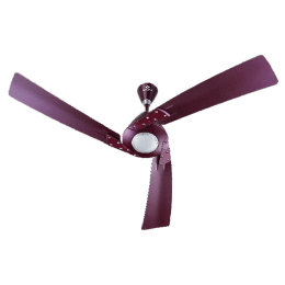 Bajaj Euro NXG Anti Germ Bye-Bye Dust 120cm Sweep 3 Blade Ceiling Fan (Aerodynamic Design, 250995, Royal Plum)_1