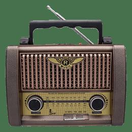 iGear Retro 8 Watts Radio Player (Bluetooth, iG-1111, Brown)_1