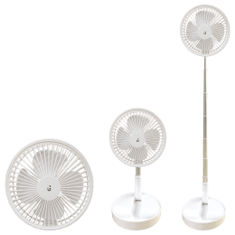 iGear 4 Blades Rechargeable Superfan (iG-1066, White)_1