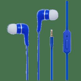 Toshiba In-Ear Wired Earphones with Mic (RZE-D32E, Blue)_1