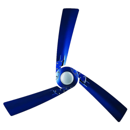 Bajaj Euro NXG Anti Germ Bye-Bye Dust 120cm Sweep 3 Blade Ceiling Fan (Aerodynamic Design, 250994, Cobalt Blue)_1