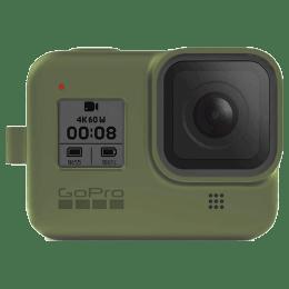 GoPro Sleeve Plus Lanyard for Hero 8 (AJSST-005, Turtle Green)_1