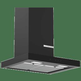 Bosch Serie 4 745 m³/hr 60cm Wall Mounted Chimney (DWB068G60I, Flat Black)_1