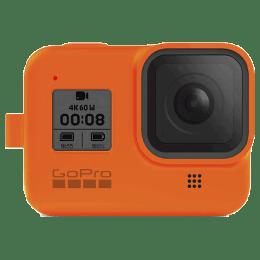 GoPro Sleeve Plus Lanyard for Hero 8 (AJSST-004, Hyper Orange)_1