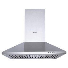 Elica Strip 880 m3/hr 60cm Wall Mount Chimney (Touch Button Controls, BF 60 SS, Silver)_1