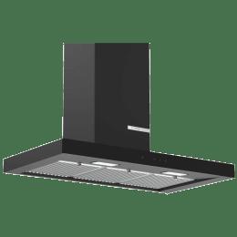 Bosch Serie 4 745 m³/hr 90cm Wall Mounted Chimney (DWB098G60I, Flat Black)_1
