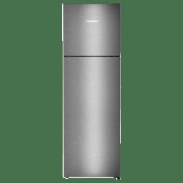 Liebherr 346 Litres 2 Star Frost Free NexGen Inverter Double Door Refrigerator (Central Power Cooling, TCgs 3510, Grey Steel)_1