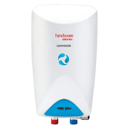 Hindware Atlantic Convenio 3 Litres 5 Star Rating Instant Water Heater (3000 Watts, HIWHCO3WI3VSS, White)_1