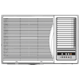 Panasonic 1.5 Ton 5 Star Window AC (Copper Condenser, CW-XN181AM, White)_1