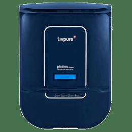 Livepure RO + UV + UF + Mineraliser Water Purifier (Platino Copper, Blue)_1