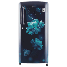LG 190 Litres 4 Star Direct Cool Inverter Single Door Refrigerator (Smart Connect, GL-B201ABCY.ABCZEB, Blue Charm)_1