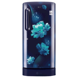 LG 215 Litres 4 Star Direct Cool Inverter Single Door Refrigerator (Smart Connect, GL-D221ABCY.DBCZEB, Blue Charm)_1