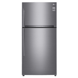 LG 630 Litres 3 Star Frost Free Inverter Double Door Refrigerator (Smart Diagnosis, GR-H812HLHQ.APZQEBN, Shiny Steel)_1