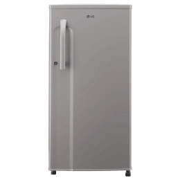 LG 188 Litres 3 Star Direct Cool Single Door Refrigerator (Anti Bacterial Gasket, GL-B191KDGD.ADGZEB, Dim Grey)_1