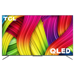 TCL C715 165.1cm (65 Inch) 4K Ultra HD QLED Android Smart TV (Quantum Dot Technology, 65C715, Black)_1