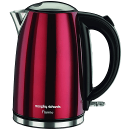 Morphy Richards Flamio 1.7 Litres 2000 Watts Electric Kettle (Detachable Base, Dry Boil Protection, 590020, Red)_1