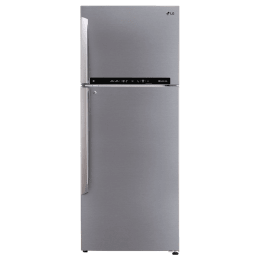 LG 471 Litre 3 Star Frost Free Inverter Double Door Refrigerator (Convertible Plus, GL-T502FPZ3.DPZZEBN, Shiny Steel)_1